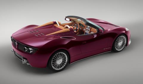 Spyker B6 Venator Spyder Concept trasera