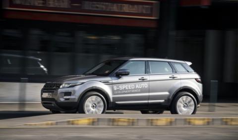 Range Rover Evoque 2014 lateral