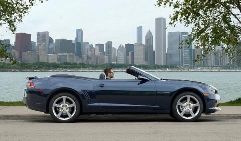 Chevrolet Camararo Convertible 2013 lateral