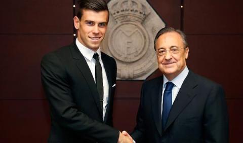 Gareth Bale se ha comprometido con el Real Madrid durante seis temporadas