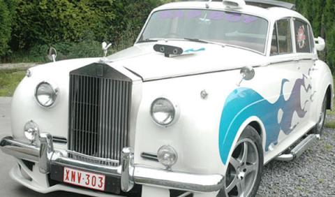 Rolls Royce Delantera