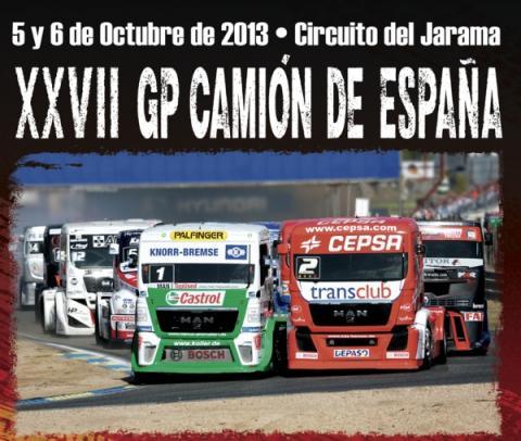 cartel GP de España Camión 2013