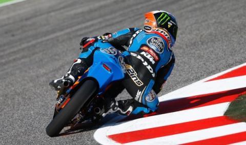 Álex Rins, ganador del GP de San Marino de Moto3