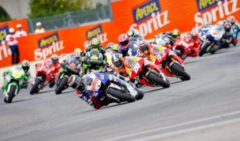 Jorge Lorenzo ha dominado de principio a fin el GP de San Marino de MotoGP.