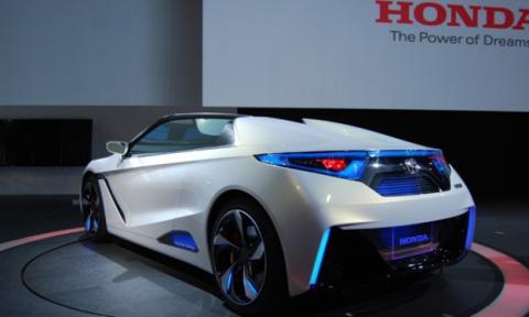 Trasera del Honda EV-Ster