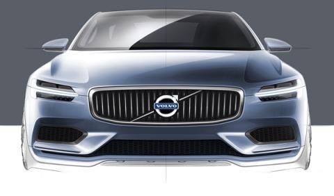 El Volvo Coupe Concept presentado en Frankfurt
