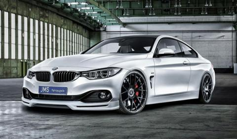 El BMW Serie 4 de preparado por JMS