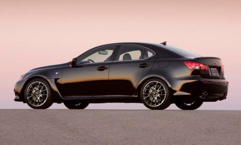 Lexus IS F lateral