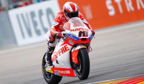 Terol ha vuelto a encontrar su mejor versión en el Gran Premio de Aragón 2013.