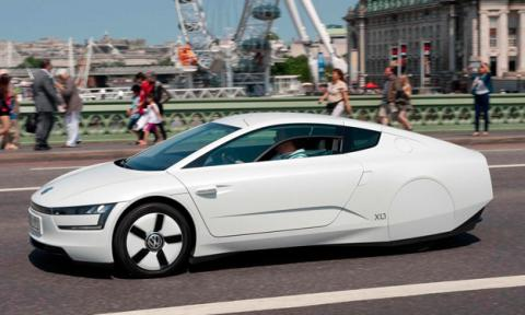 Volkswagen XL1 lateral