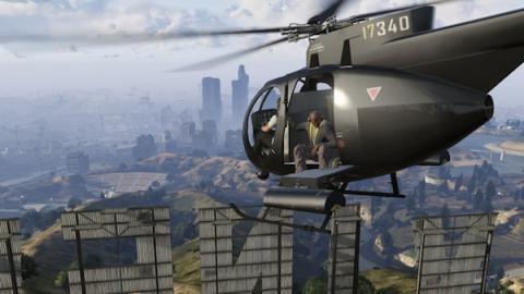 gta v online helicoptero