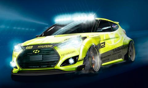 Hyundai Veloster Yellowcake