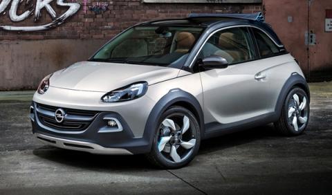 El Opel Adam Rocks, el futuro mini SUV de Opel