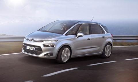 Citroën C4 Picasso delantera Blue HDi
