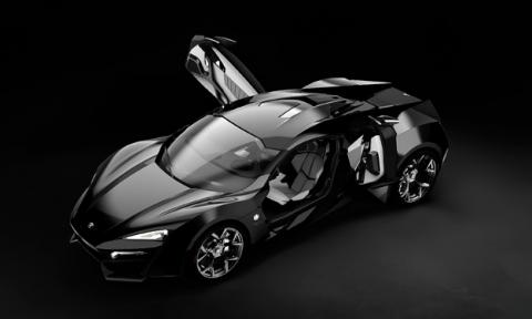 W Motors Lykan Hypersport delantera