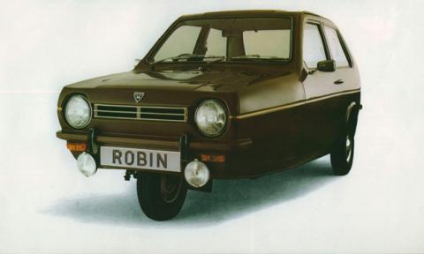 Reliant Robin frontal
