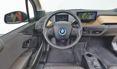 BMW i3 salpicadero