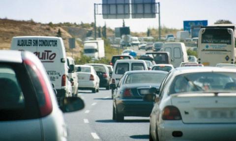 144 kilómetros de atascos en Madrid a causa de la lluvia