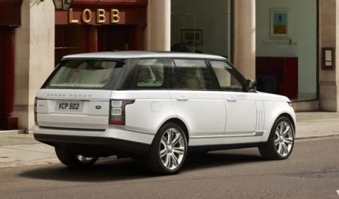Trasera Range Rover batalla larga