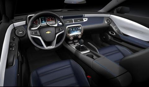 Chevrolet Camaro Spring Edition interior