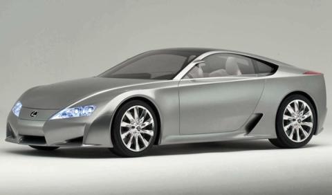 El concept inicial del Lexus LFA