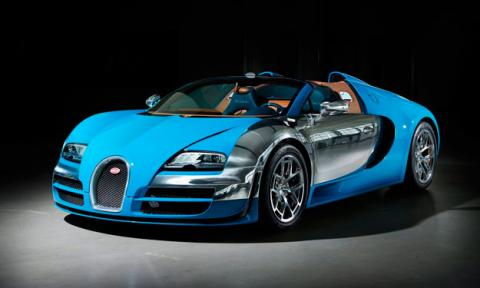Bugatti Veyron Meo Costantini delantera