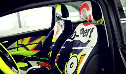 Opel Adam Rossi asientos