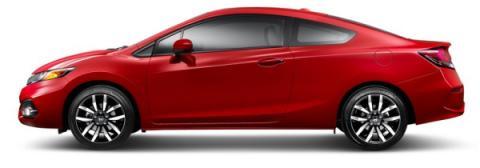 Honda Civic Coupé 2014 lateral