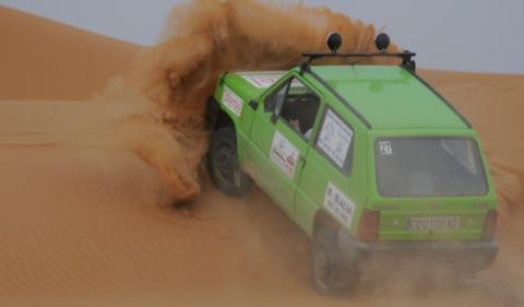 Raid Pandemónium dunas