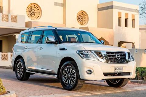 Nissan Patrol 2014 Dubai delantera