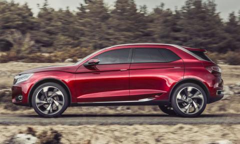 Citroën Wild Rubis lateral