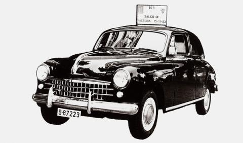 SEAT 1400 primer coche