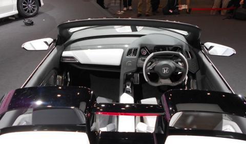 honda s660 concept interior salón de tokio 2013