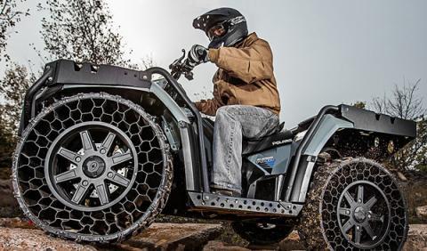 Polaris Sportsman WV850 HO: el quad con neumáticos sin aire