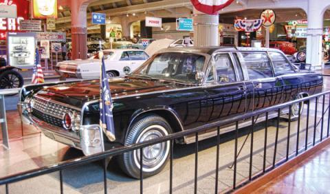 coche kennedy Lincoln SS-100 K