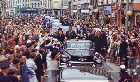 desfile Kennedy