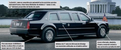 coche oficial de obama