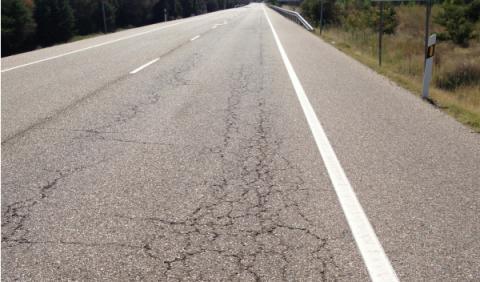 El 72% de las carreteras españolas presenta grietas