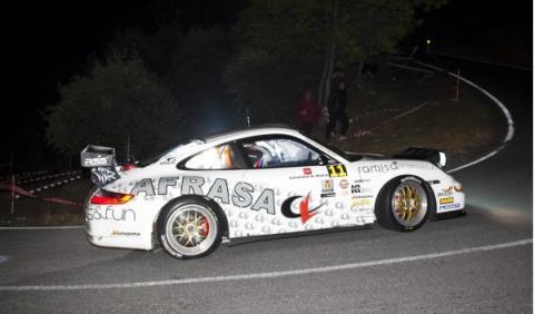 Rally Comunidad de Madrid Porsche 911 Muñiz