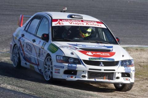 Cohete Suárez , en el Rally Comunidad de Madrid Race 2013