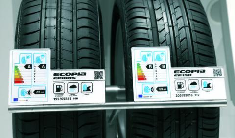 Neumáticos distintos
