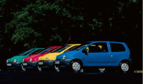 Renault Twingo I colores