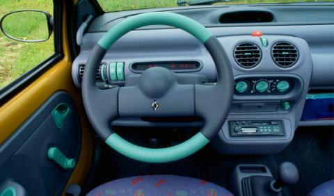 Renault Twingo salpicadero