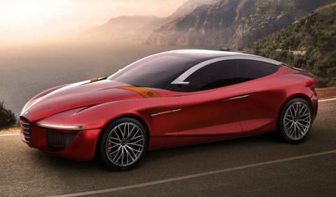 El Alfa Romeo Gloria concept de 2013