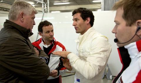 Mark Webber Porsche Le Mans
