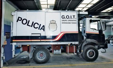 La Policía reduce en 405 vehículos su flota en dos años