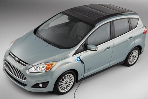 Ford C-MAX Energi Solar Concept, enchufable y con plazas solares