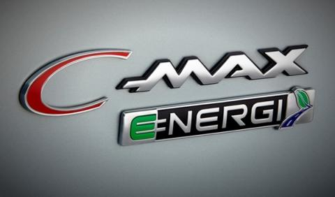 El logo del Ford C-MAX Energi Solar Concept