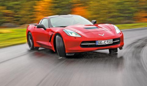 Drift con el Corvette C7 Stingray