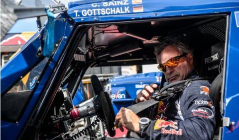 Carlos Sainz buggy Dakar 2014
